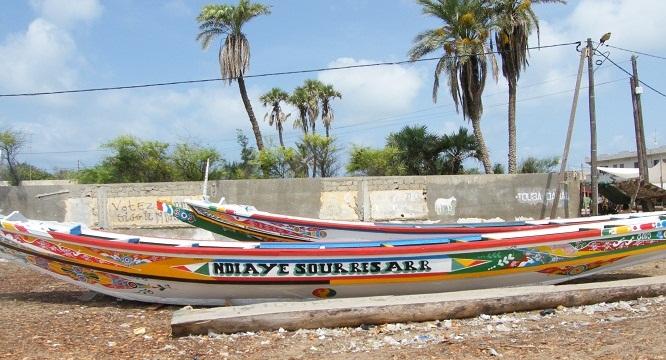 Pirogues- Sénégal